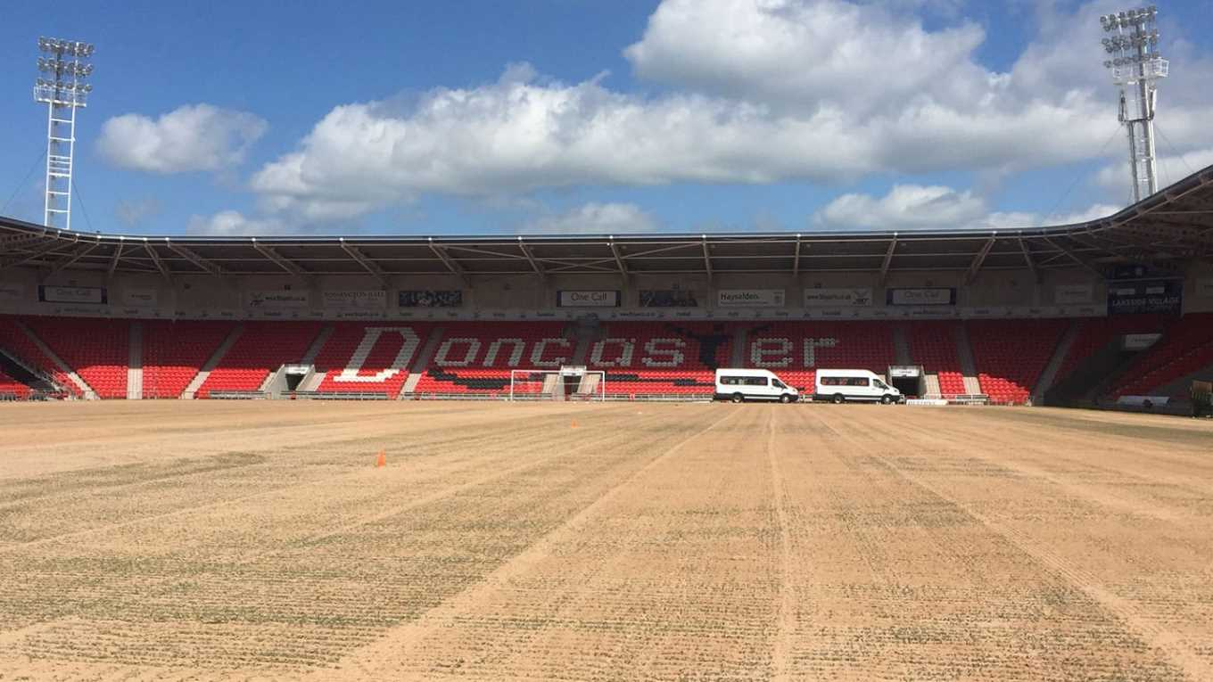 pitch renovation - news - doncaster rovers