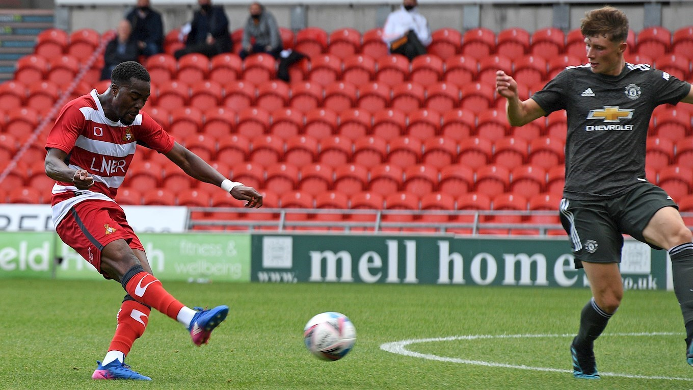 Rovers 5 Manchester United U23 0 News Doncaster Rovers
